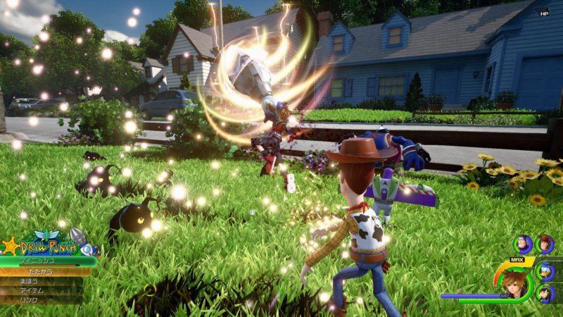 playstation 4Kingdom Hearts III combat Woody