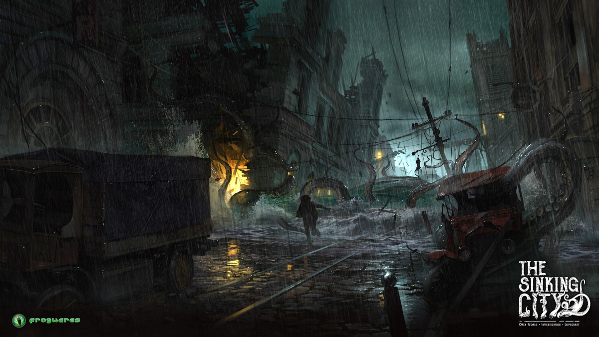 The sinking city tsunami