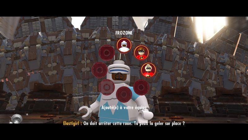 Lego Les Indestructibles Frozone