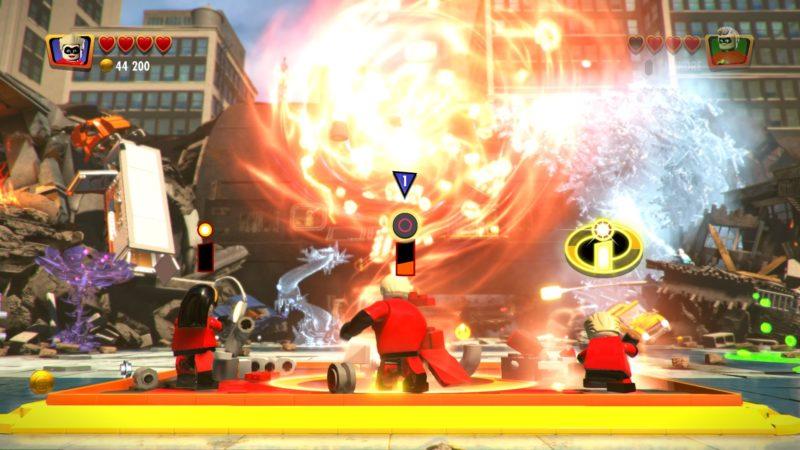 Lego Les Indestructibles construction