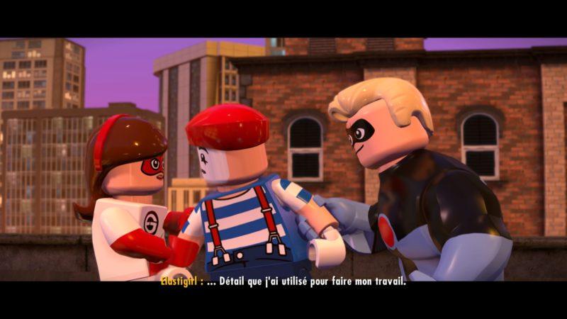 Lego Les Indestructibles ouverture des indestructibles