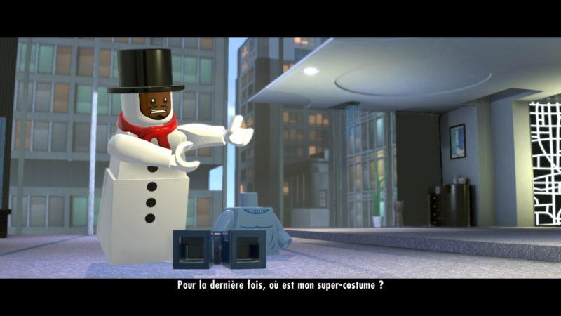 Lego Les Indestructibles costume de Frozone