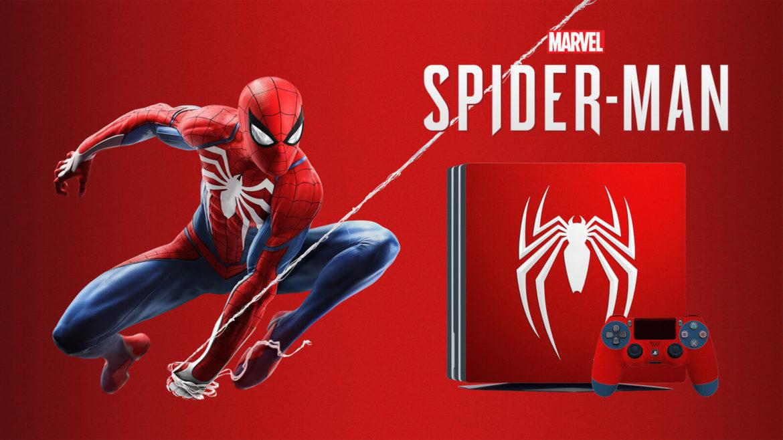 Spider-Man bundle PlayStation 4