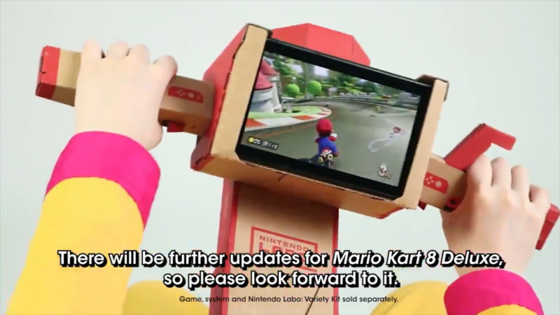 Mario Kart 8 Deluxe - MàJ à venir