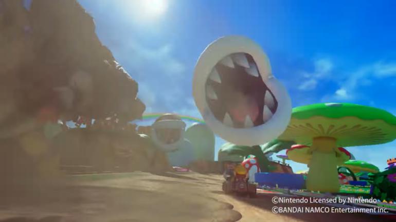 Mario Kart Arcade GP VR - mordre la poussière