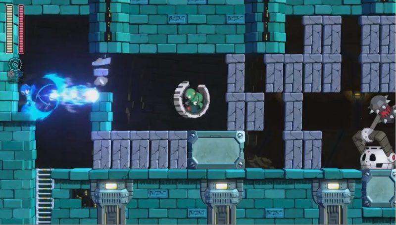 Mega Man 11 gameplay