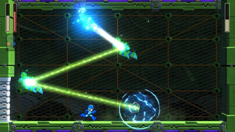 Mega Man 11 combat contre Fuse Man