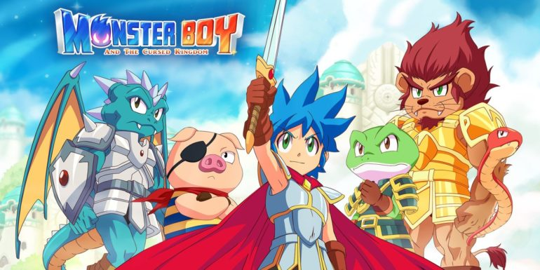 Monster Boy and the Cursed Kingdom - au moins un truc bien aujourd'hui