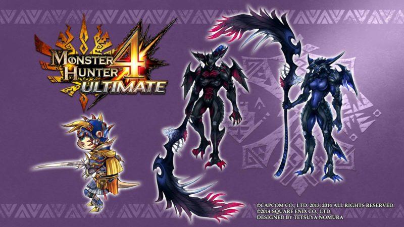 Monster Hunter 4 Ultimate - Tetsyua Nomura armure