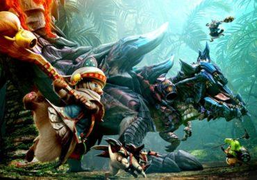 Monster Hunter Generations Ultimate - palico contre Glaviolus