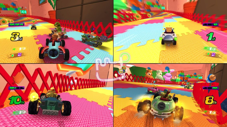 Nickelodeon Kart Racers - Mode multijoueur