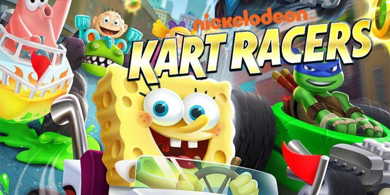 Nickelodeon Kart Racers logo