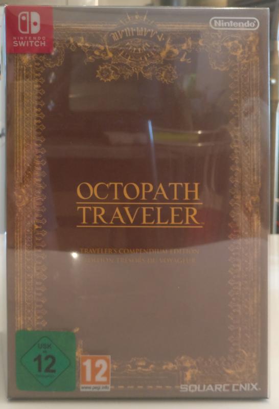Octopath Traveler - Edition Trésors du Voyageur - boite base