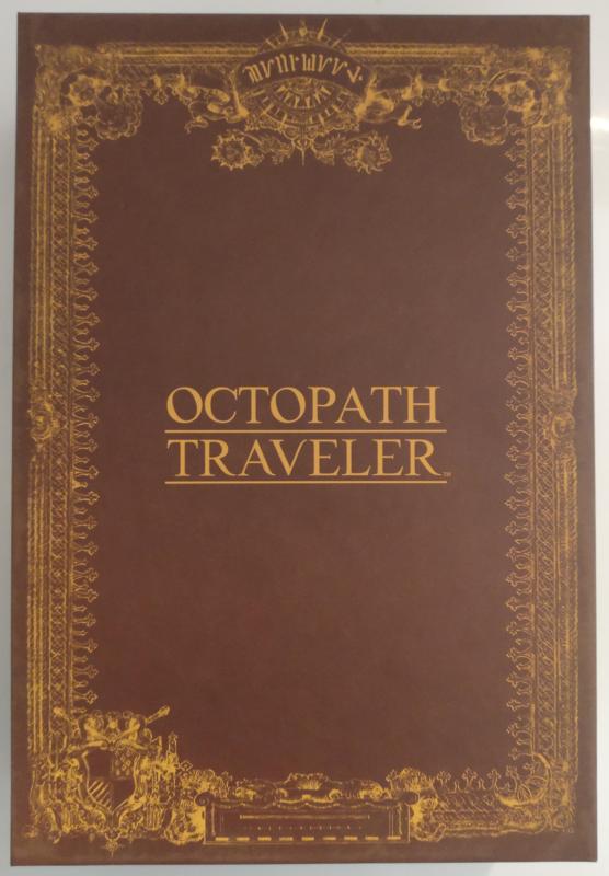 Octopath Traveler - Edition Trésors du Voyageur - boite base sans surcouche