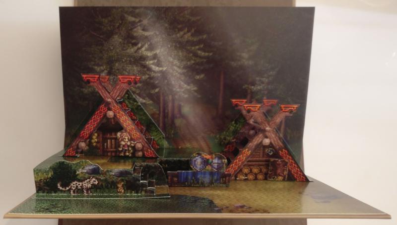 Octopath Traveler - Edition Trésors du Voyageur - diorama chasseresse
