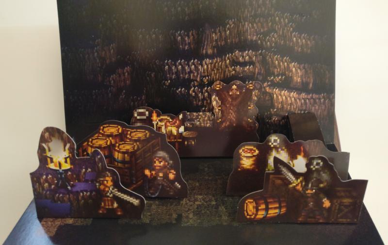 Octopath Traveler - Edition Trésors du Voyageur - diorama chevalier