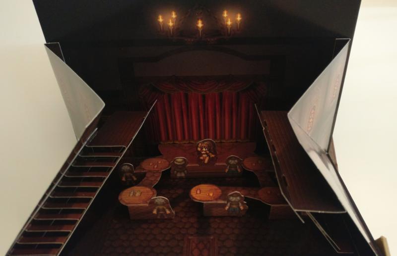 Octopath Traveler - Edition Trésors du Voyageur - diorama danseuse