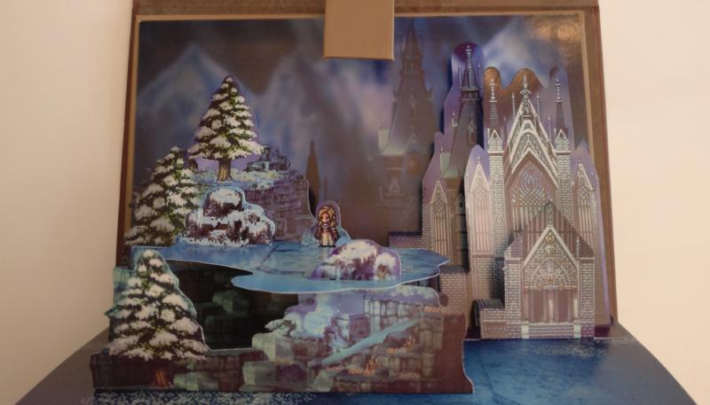 Octopath Traveler - Edition Trésors du Voyageur - diorama prêtresse