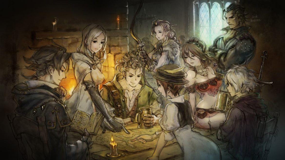 Octopath Traveler - artwork taverne