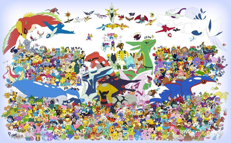 Pokémon - ça en fait du monde