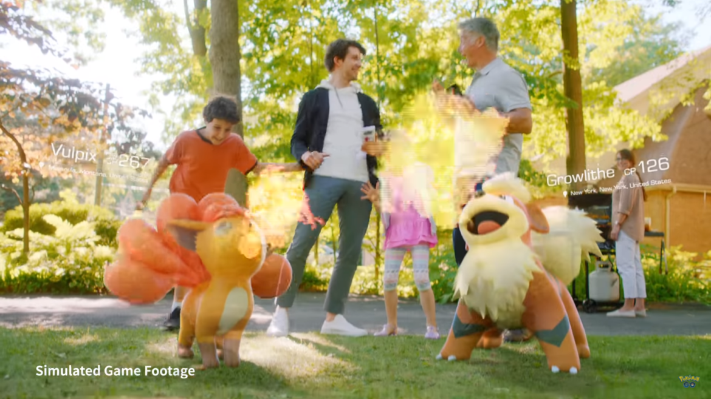 Pokémon GO - Simulated Game Footage de gueule