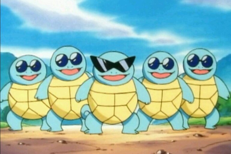 Pokémon GO - Carapuce à lunettes