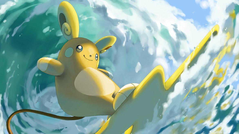 Pokémon GO - artwork raichu alola