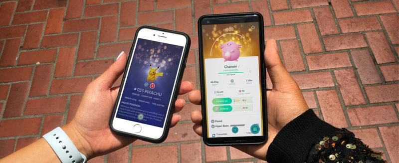 Pokémon GO - des créatures brillantes mais pas savantes