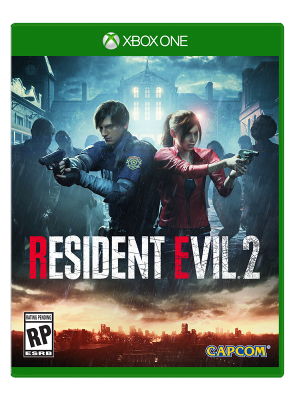 Resident Evil 2 Jaquette Xbox One