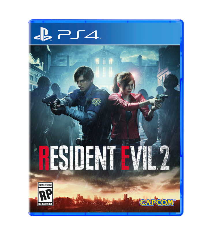 Resident Evil 2 Jaquette PlayStation 4