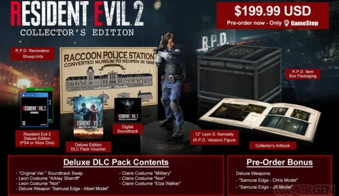 Resident Evil 2 Edition Collector US