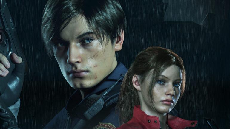 playstation 4 Resident Evil 2 Léon et Claire