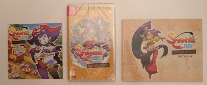 Shantae: Half-Genie Hero - Day One Edition déballé