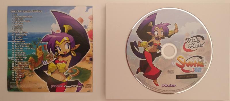 Shantae: Half-Genie Hero - Day One Edition détail OST - Risky Beats