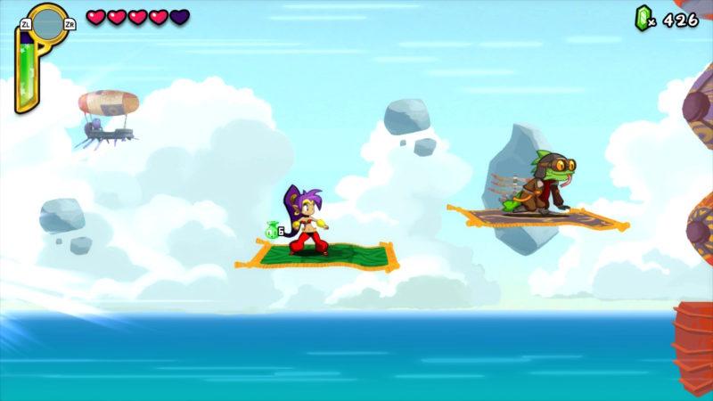 Shantae: Half-Genie Hero Ultimate Edition - ce rêêêêêve bleuuuuuuu