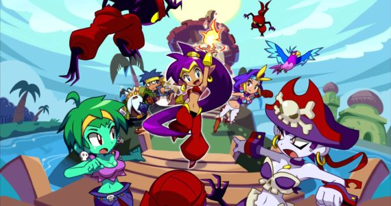 Shantae: Half-Genie Hero Ultimate Edition - Day One Edition - artwork