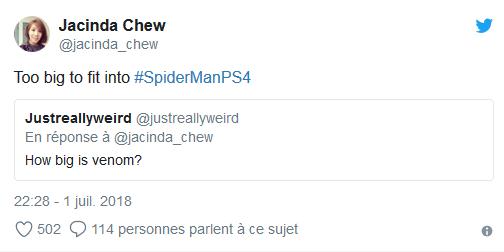 Spider-Man Tweet