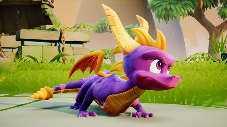 Spyro Reignited Trilogy - Dragon prêt à bondir