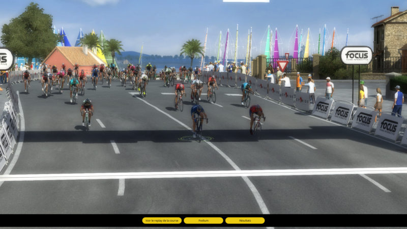 Pro Cycling Manager 2018 sprint