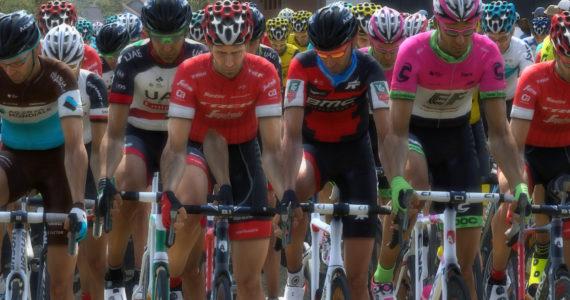 Pro Cycling Manager 2018 - peloton