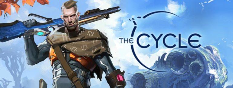 Image de The Cycle montrant un homme armé sur la planète Fortuna III