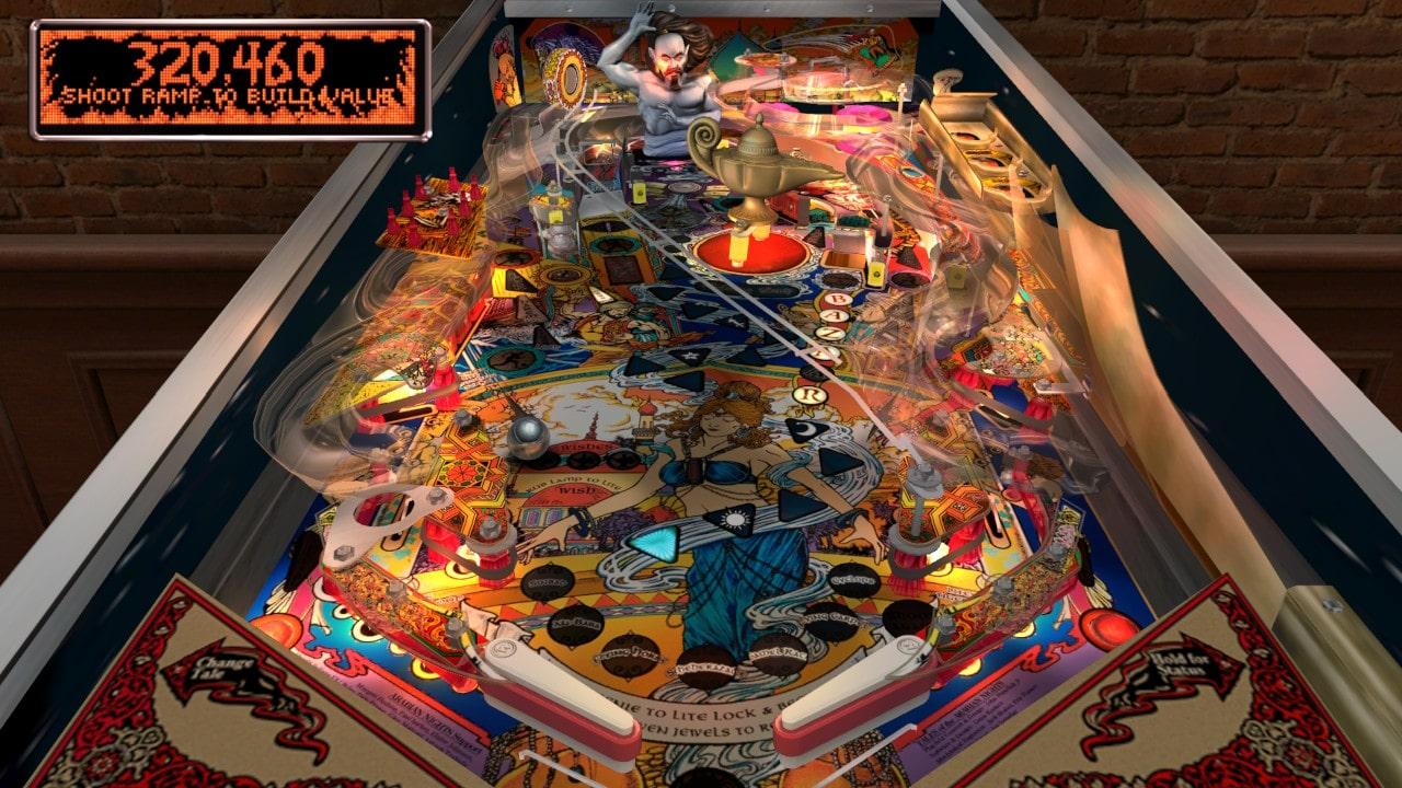 The Pinball Arcade Arabian Night