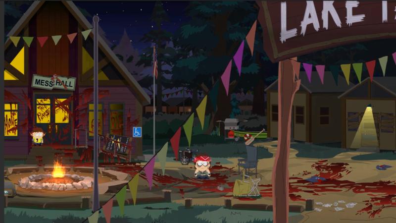 South Park : l'Annale du Destin lac Tardicaca