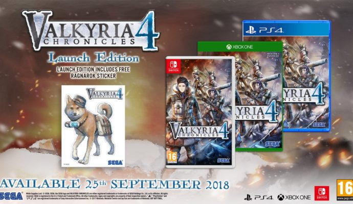 Valkyria Chronicles 4 Lauch Edition