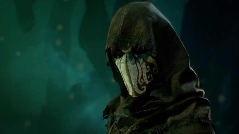 call of cthulhu homme masqué