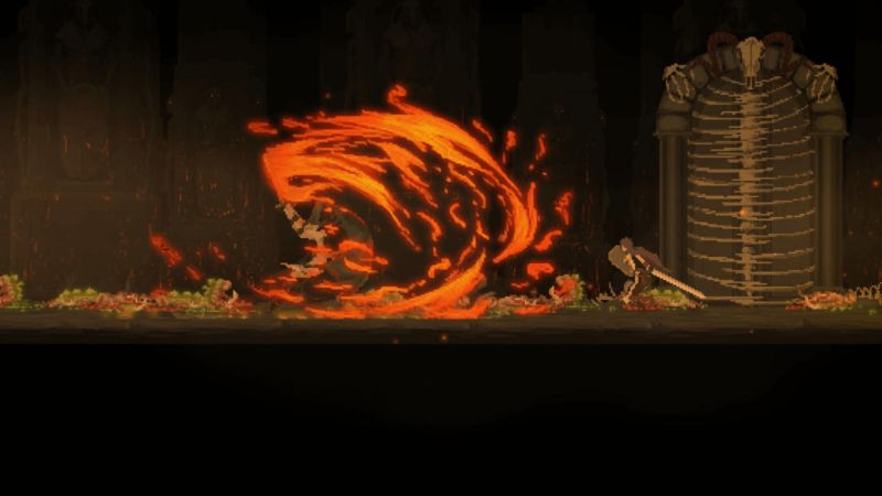 Dark Devotion - une attaque surpuissante