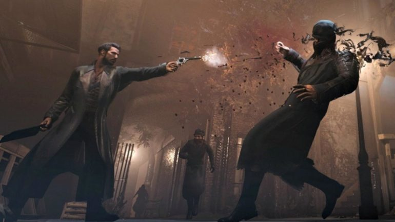 Vampyr combat pistolet
