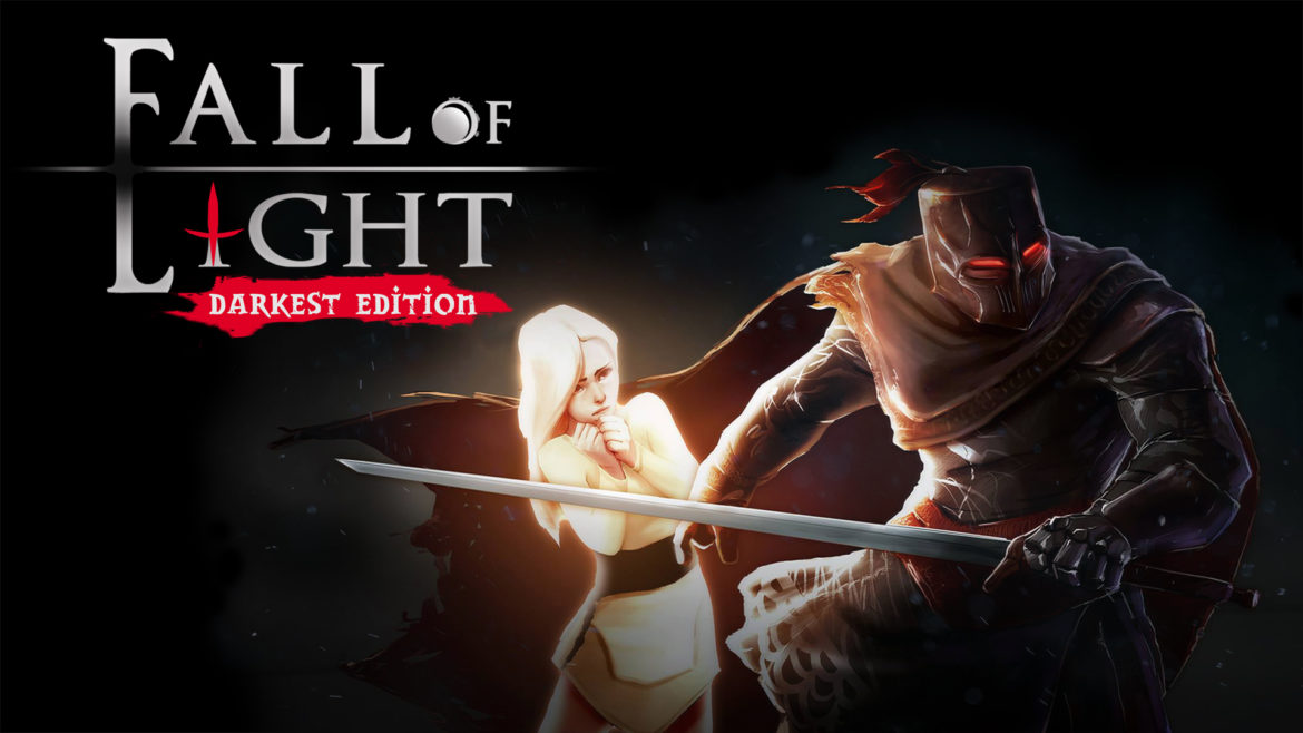 Fall of Light : Darkest Edition - un chevalier et sa fille