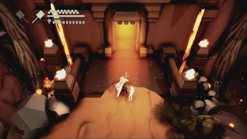 Fall of Light : Darkest Edition - porte chateau