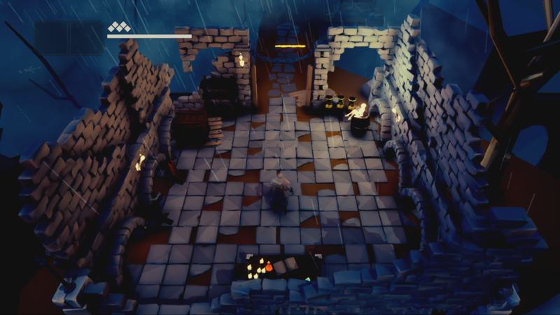Fall of Light : Darkest Edition - ruines